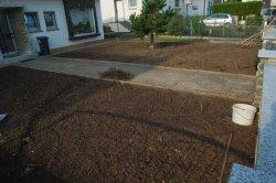 Vorbereitung Vorgarten